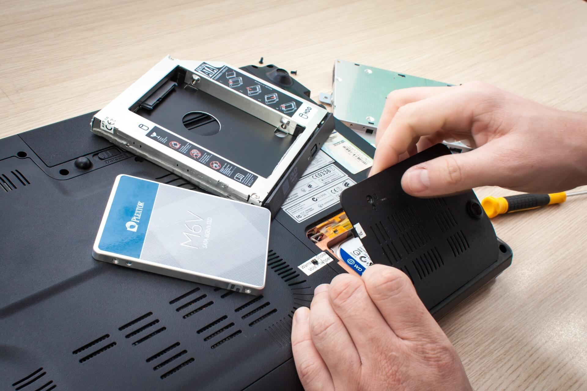 Ремонт SSD диска