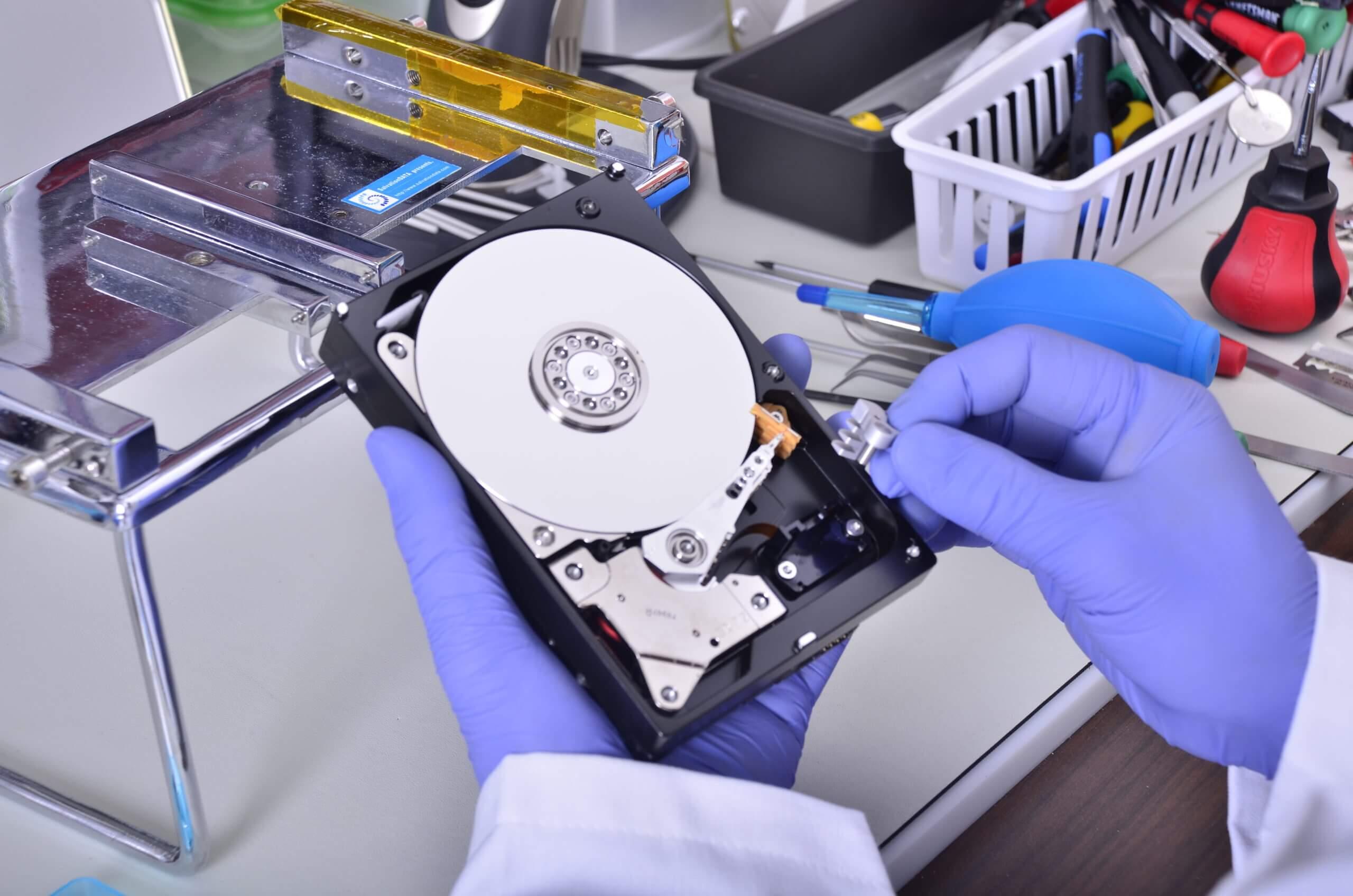 Восстановление данных на компьютере
