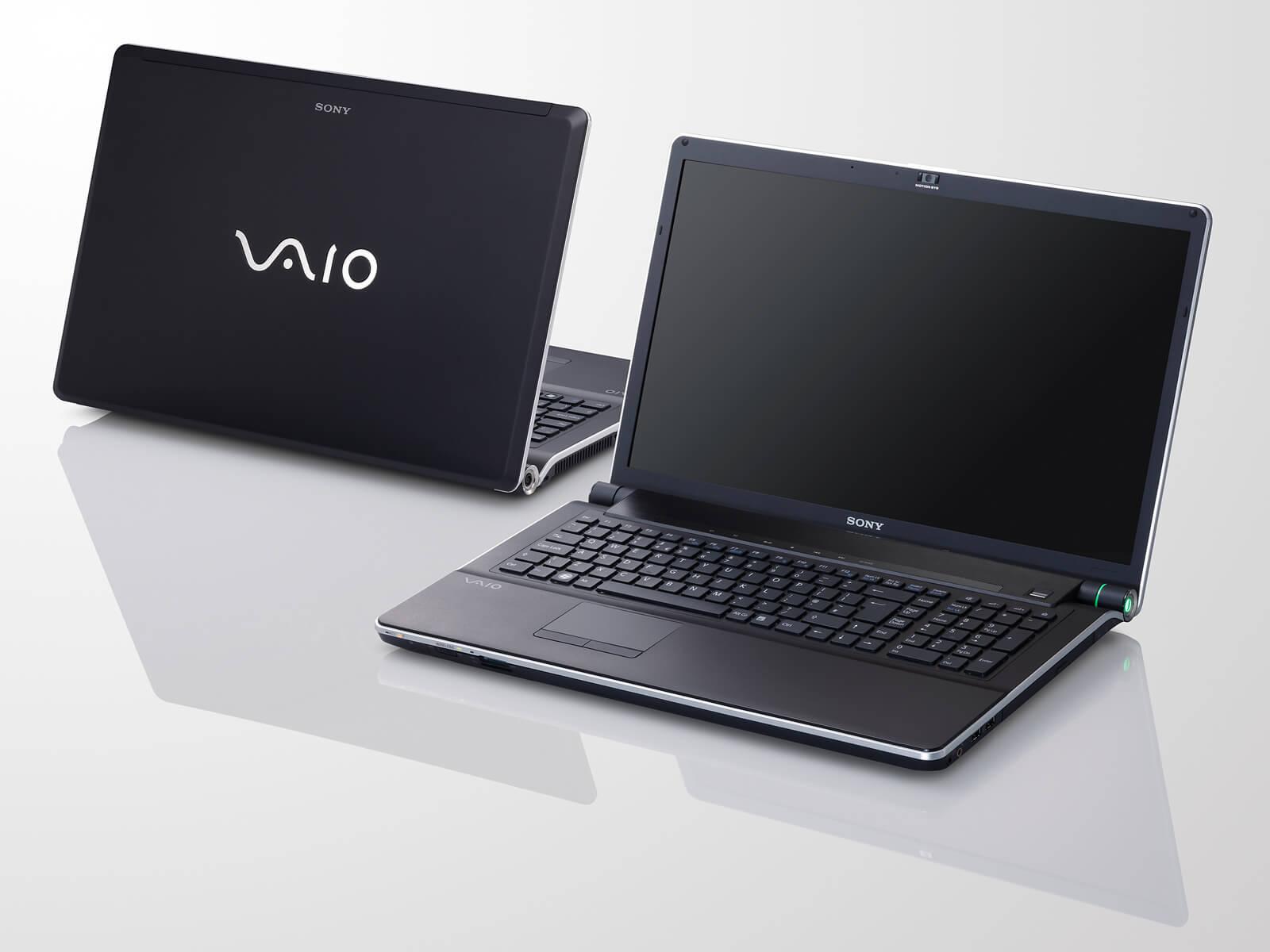 Ремонт компьютеров Sony Vaio