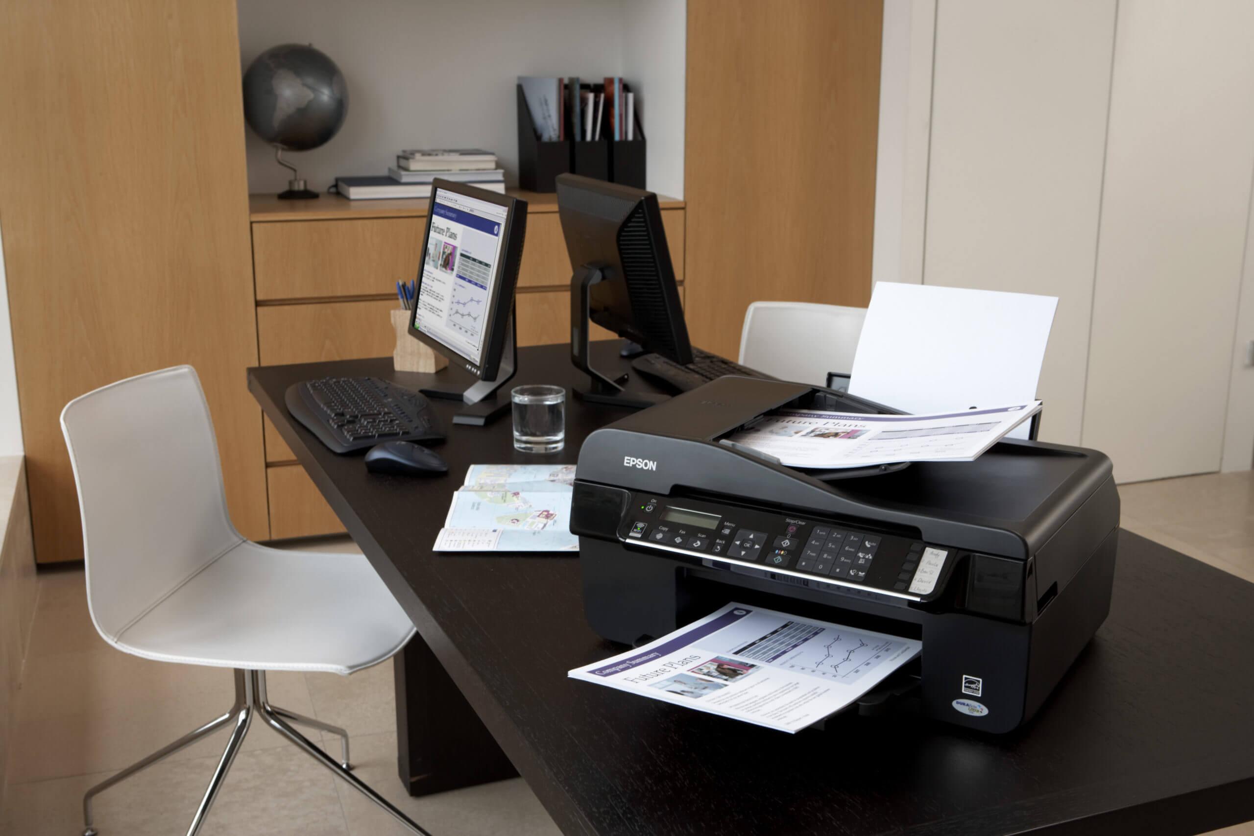 Подключение и настройка принтеров