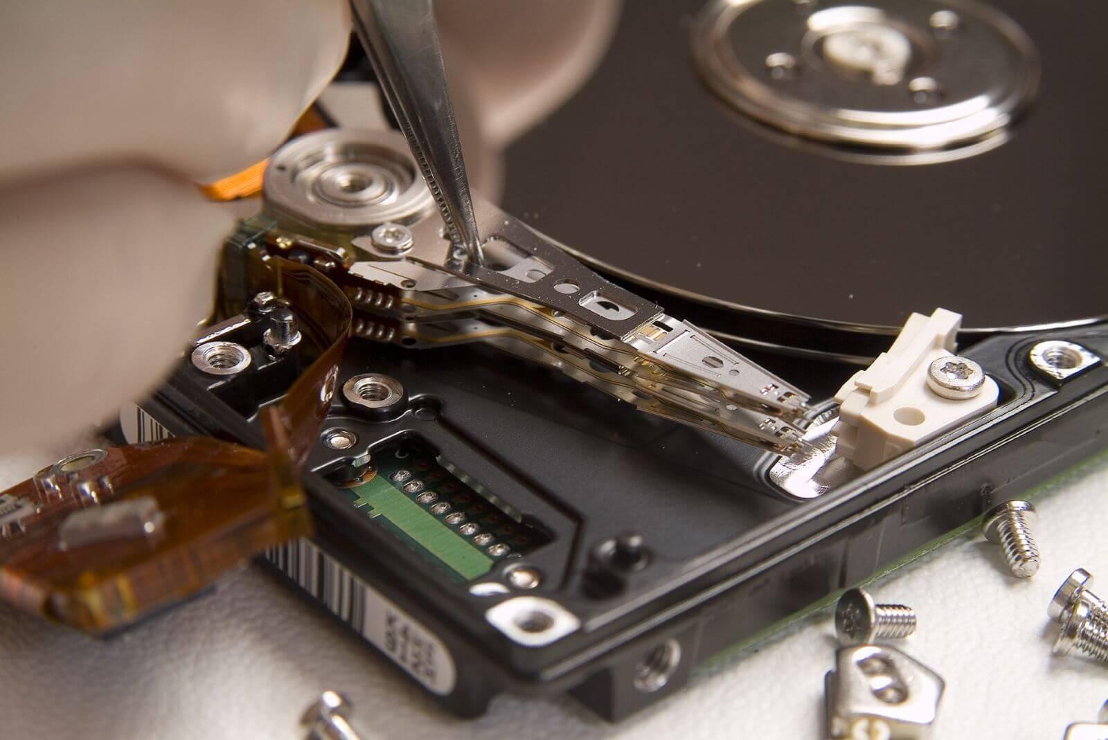 Ремонт внешнего жесткого диска