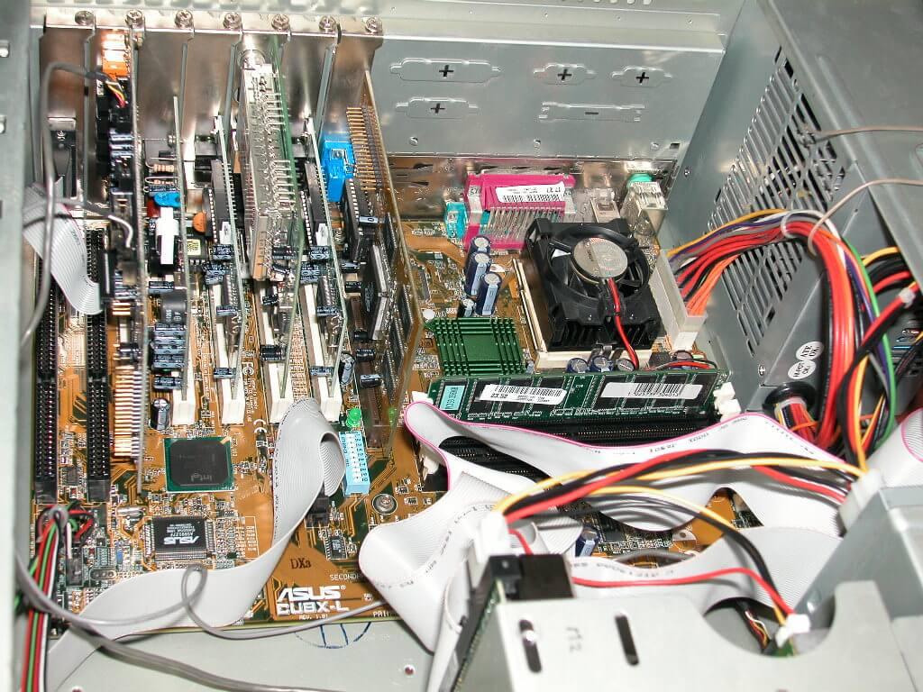 Сборка серверов