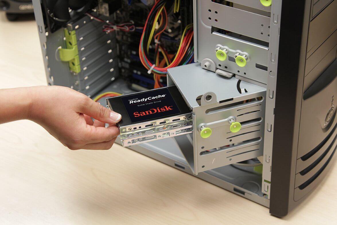 Замена SSD диска