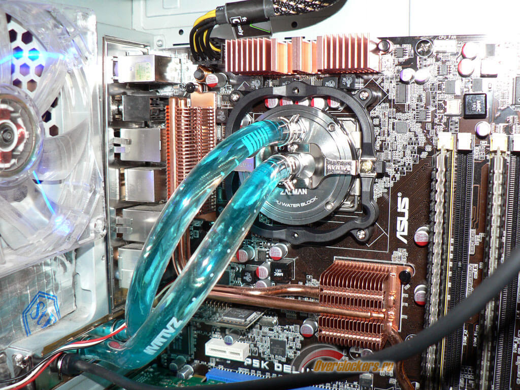 Охлаждение компьютера жидкостным и воздушным способами