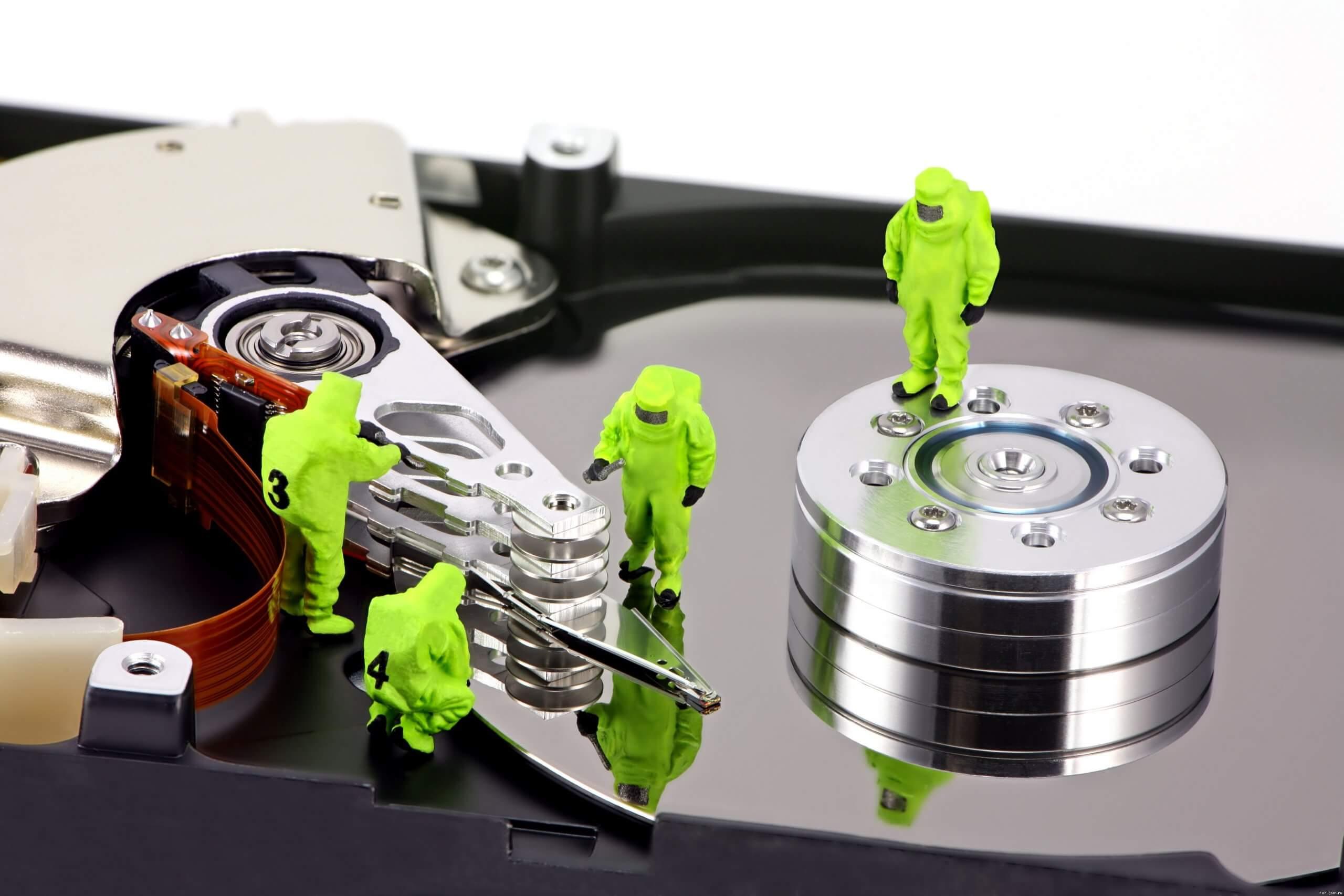 Самостоятельное восстановление файлов