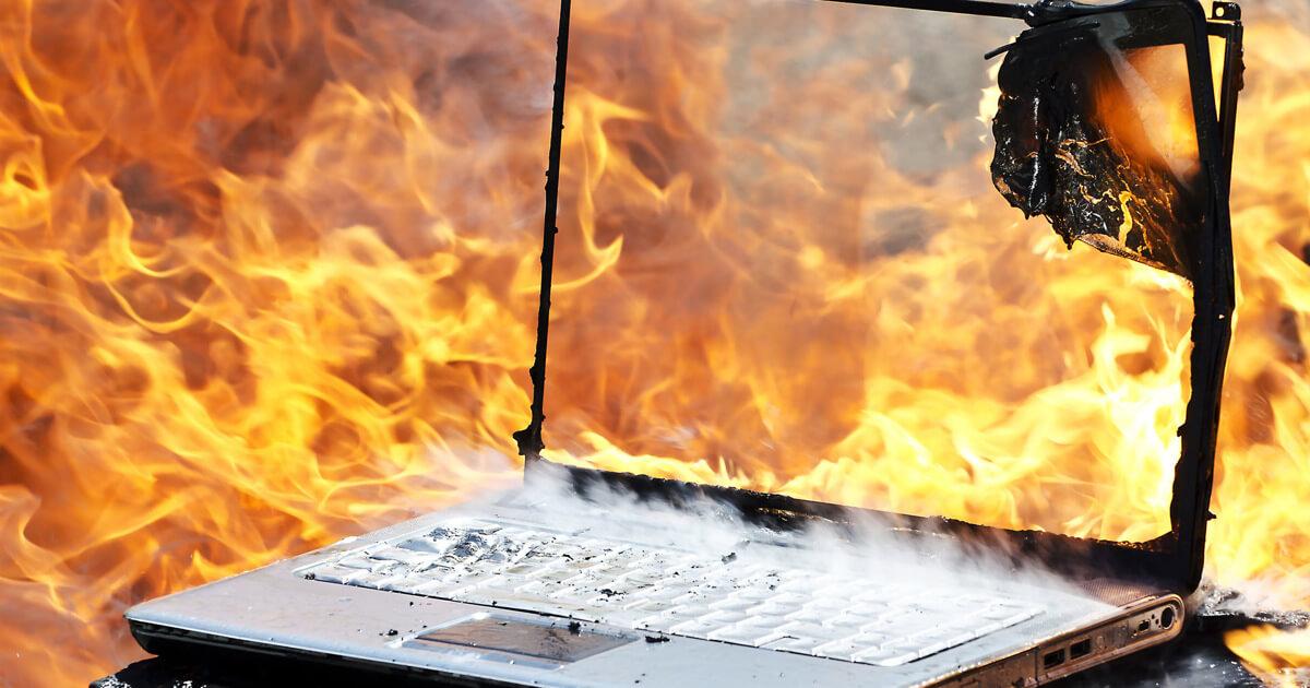 Перегрев и другие не исправности ноутбуков